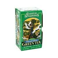 CELESTIAL SEASONINGS Mint Decaf Green Tea 20 BAG