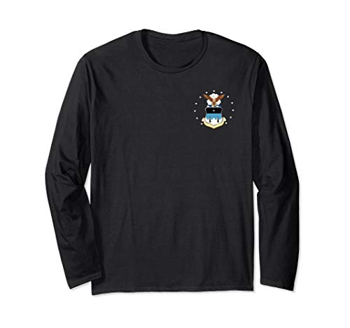United States Air Force Academy College Military Long Sleeve (United States Air Force Academy Colors Blue)