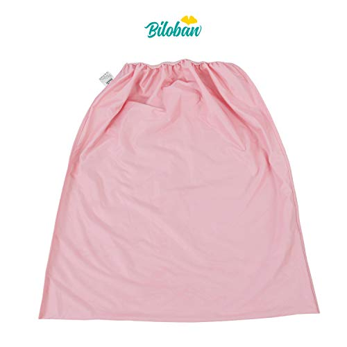 Cloth Diaper Liners Washable, Durable Cloth Diaper Pail Refill Bags for Cloth Diaper/Dirty Diapers Wet Bag, Pink ()