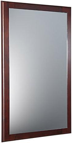 Fresca Oxford 20 Mahogany Mirror