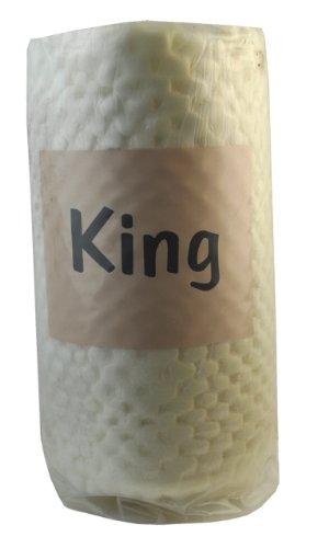 Belagio Enterprises Convoluted Foam Topper, King
