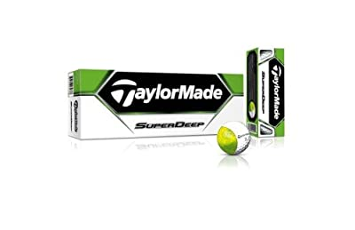 TaylorMade SuperDeep Golf Ball (Pack of 12)