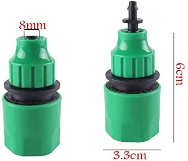 YUIOLIL Garden Hose Expandable 4 / 7Mm Pipe With Atomization Pipe Pvc 1/4'' 10M/20M/25M/30M/40M/50M