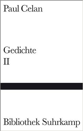 Gedichte in zwei Bänden, Band 2 Gebundenes Buch – 9. September 1975 ...