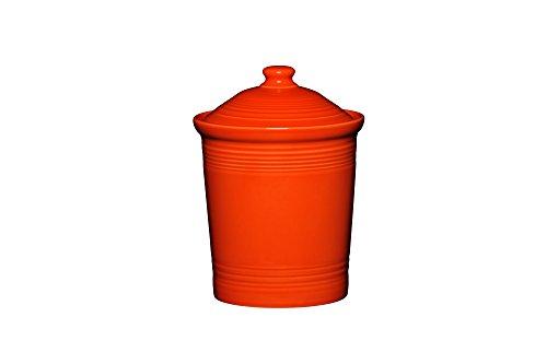 Fiesta Canister, 2-Quart/Medium, Poppy Orange Cannister