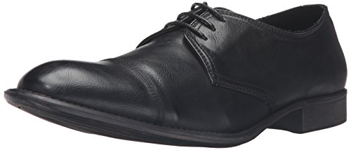 Kenneth Cole Onoterade Mens Husregler Oxford Svart