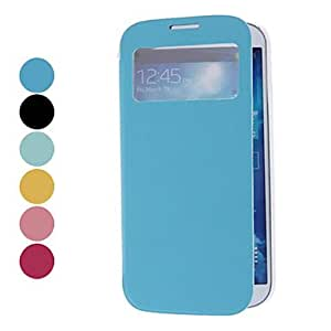 get Transparent Back Cover with Viewable Screen for Samsung Galaxy S4 I9500 (Assorted Colors) , Yellow