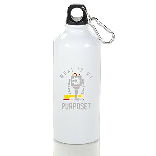 What Is My Purpose Aluminum Sports Water Bottle, Great For Outdoor And Sport - Quiz Personality For Guys