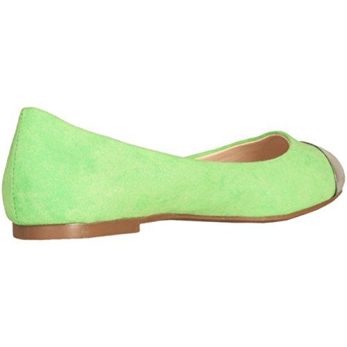 Gas, Ballerine donna Verde Grün / Green 40