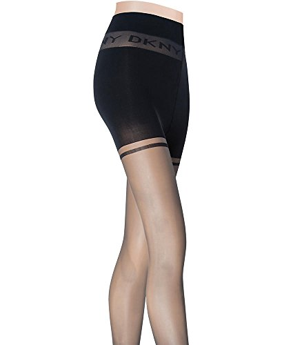 DKNY Women's Essential Ease Technology Sheer Tight, Black, ()