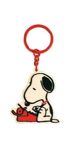 MANI Snoopy retro maequina de escribir llavero troquelada ...