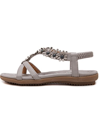 Sandalias Matchlife Zapatos gray Style9 Y Mujer qwEwxzRT