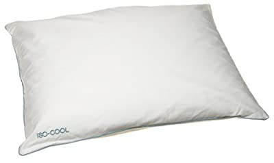 Iso-Cool Memory Foam Pillow, Traditional Shape, Standard 2 Pack