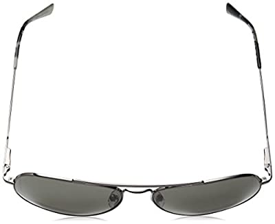 Calvin Klein Ck18105s Aviator Sunglasses, Gunmetal/Smoke, 59 mm
