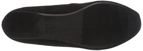 New Look Wide Foot Jaquare - Bailarinas Mujer Black (black/01)