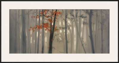 Fall Foliage Framed Art Poster Print by Steven Garrett