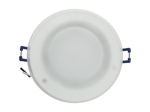 Jupiter 3.25 Inch LED Recessed Ceiling Down Light with Mouse Trap and Glass Lens ()