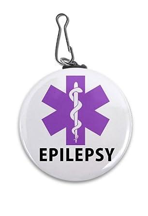 Amazon Creative Clam Epilepsy Awareness Purple Medical Alert