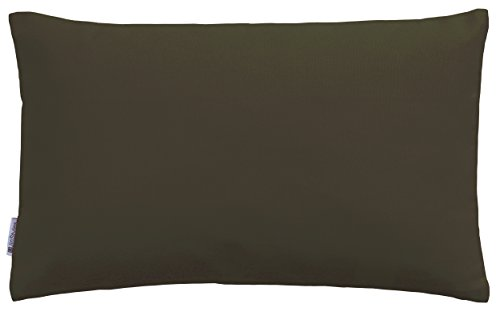 JinStyles Thick Cotton Canvas Lumbar Accent Decorative Throw