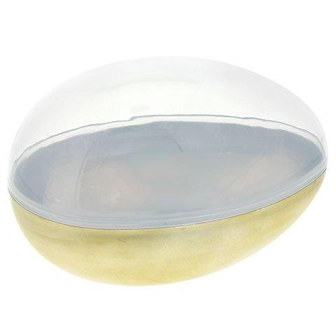 Jumbo Metallic Fillable Plastic Egg ()