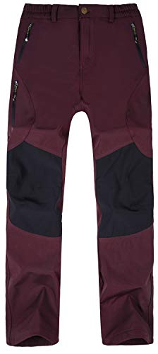 Singbring Women's Outdoor Windproof Hiking Pants Waterproof Ski Pants 2X-Large - Ski 18 Size Pants Womens