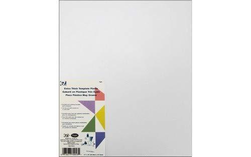 Plantilla para almazuela Simplicity EZ pl/ástico Transparente, cuadriculada, 30 x 45 cm Aprox, extragruesa