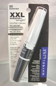 e+length Microfiber Mascara Brownish Black 502-Pack of 2 ()