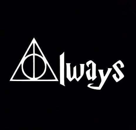 Amazon Harry Potter Deathly Hallows Always Car Auto Decal