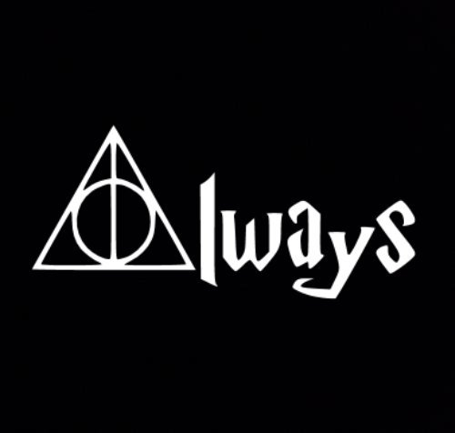 Harry Potter Deathly Hallows Always Car Auto Decal Sticker Amazon