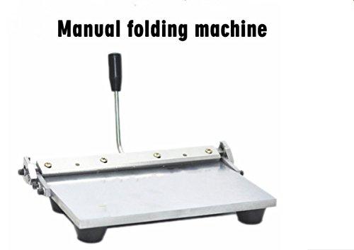 350mm 14inch Manual Leather Edge Folding Machine Bag Linear Edge-Bending machine by YJINGRUI