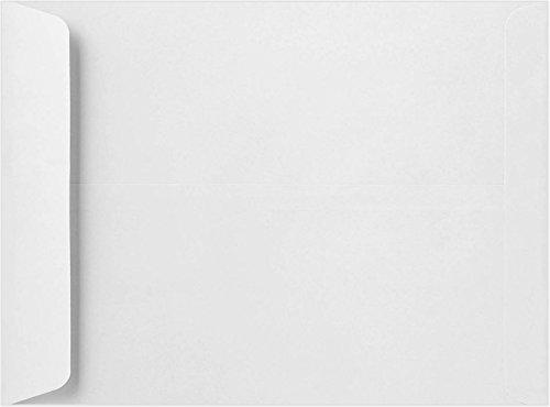 9 x 12 Open End Envelopes - 28lb. Bright White (50 Qty.) Envelopes Store
