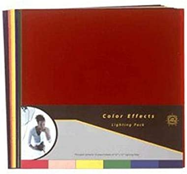 Lee Filters Color Effects Pack 12 Sheet Pack of Pre-cut 12x12 Lighting