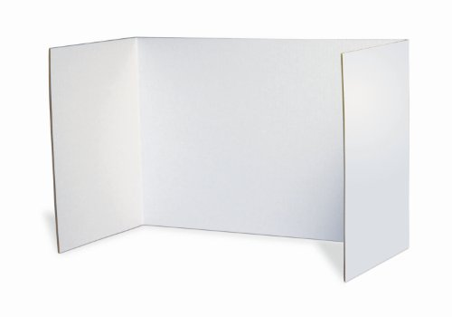 Pacon Privacy Boards, White, 48
