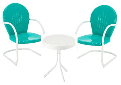 Jack Post BH 920EM Natural Organic Green/White Retro Bistro Set