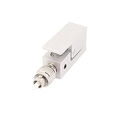 Uxcell a15111200ux0070 FTTH Fibre Optical Connector Square FC Bare Fiber Optic Adapter