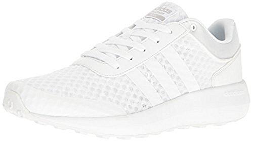 Adidas Sport Race (adidas NEO Men's Cloudfoam Race Running-Shoes, White/White/Light Onix, 11 Medium US)