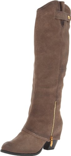 Fergie Women's Ledger Too Boot,Olive,5.5 M US