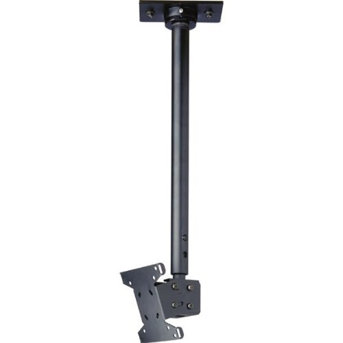 """Price comparison product image Peerless - Black 13"""" To 29"""" Ceiling Mount With 36.85"""" To 49.85"""" Adjustable Drop Length """"Product Category: Tv Mounts 23 - 39 Medium/5 - Ceiling Mounts & Hardware"""""""