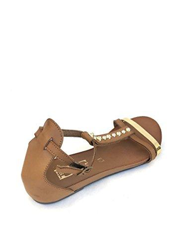 Divine Follie - Sandalias de vestir de Piel para mujer cuero