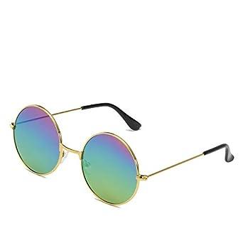 LQ-YJ moda gafas de sol unisex, gafas de sol retro, gafas de ...