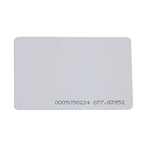 20 Count DX Series Credit Card Size 125KHz Access Control Cards, for use with DX Readers Only! by SecurityCameraKing