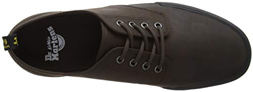 Unisex dark erwachsene Braun Dr 201 Martens Brun Unisexe Sneaker Brown Fonc Sneaker Pressler Adulte brun Pressler Snqq5wx