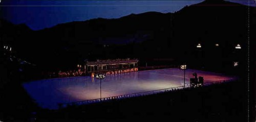 Sun Valley's Year Round Open Air Olympic Size Ice Rink Sun Valley, Idaho Original Vintage - Sun Shop Valley