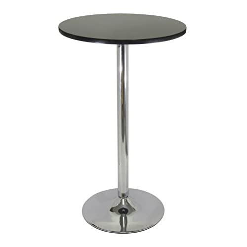 High top bar tables amazon winsome wood black and chrome pub table watchthetrailerfo
