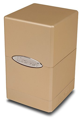 Ultra Pro 84601 Satin Tower Deck Box, Caramel (Ultra Pro Mtg Pro Tower Deck Box)
