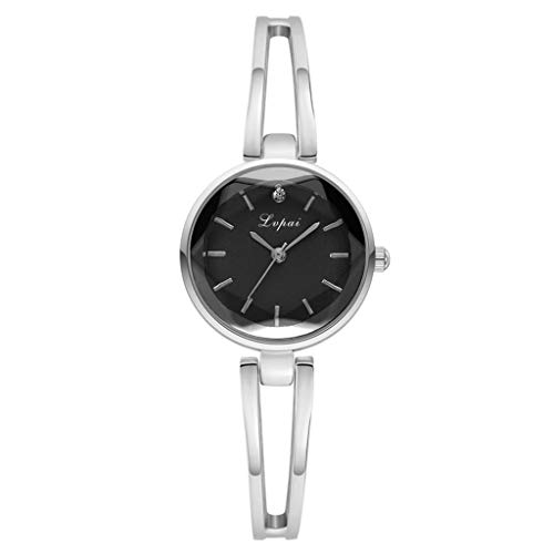 (Pengy Woman Watch European Beauty Simple Casual Fashion Watch Convex Small Exquisite Bracelet Wrist Watch)