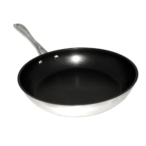 BergHOFF Copper Clad Stainless Steel Fry Pan Non-Stick, 10-Inch