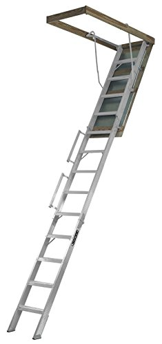 Louisville Ladder 22.5-Inch by 63-Inch Aluminum Attic Ladder