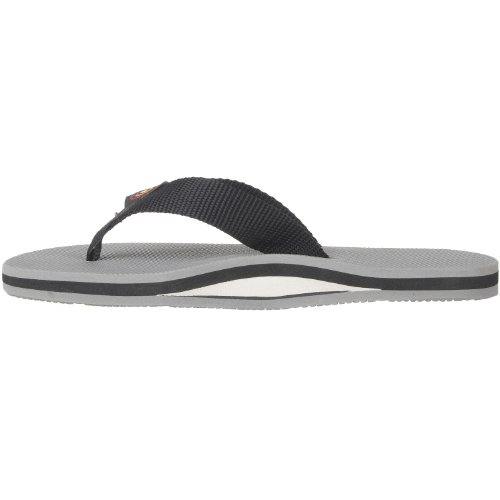 Grey Layer Black Sandals Arched 5 5 Classic Size Large 10 Single Mens Rainbow 9 4ngYn0