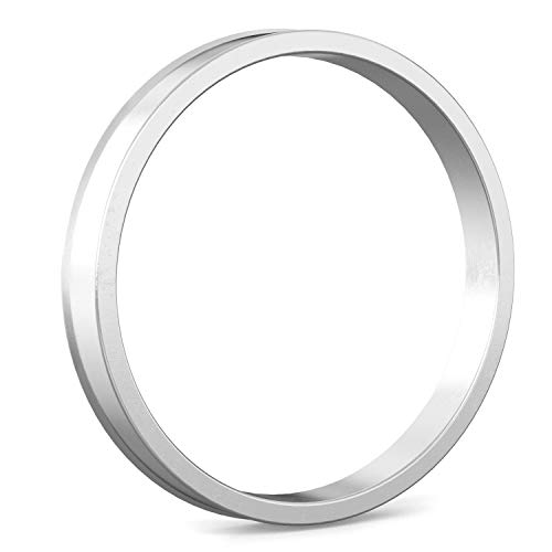 Hubcentric Rings (Pack of 4) - 64.1mm ID to 72.6mm OD - Silver Aluminum Hubrings - Only Fits 64.1mm Vehicle Hub & 72.6mm Wheel Centerbore - for many Honda Acura by StanceMagic (Image #5)